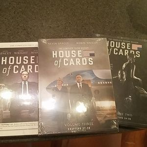 Other - NWT House of Cards Set Seasons 1-3